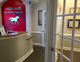 Highland Dental - Entrance